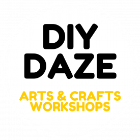 DIY Daze 2021 - 1500x1500 - Transparent Logo